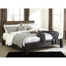 Zelen Bedroom Set King Signature Design By Ashley Windlore Modern Rustic King Panel Bed