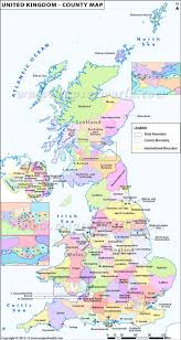 Wessex England Map by