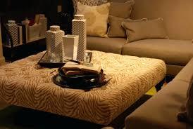 pattern fabric ottoman square fabric ottoman coffee table empire great furniture orange