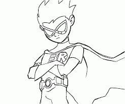 14 pics cartoon network teen titans coloring pages printable