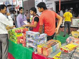 ghaziabad cracker of a sale at fireworks hub noida hindustan