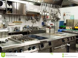 hotel kitchen stock image image of catering hotel chrome 10563053 royalty free stock photo