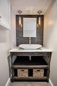 bathroom vanities ideas powder room contemporary with tile