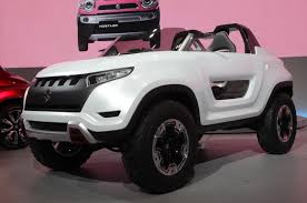 jeep modified in kerala suzuki x lander concept unveiled at tokyo autocar india