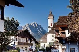 Garmisch Germany Map by Partenkirchen Garmisch Partenkirchen Germany Old Town