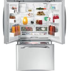 ge profile energy star 25 8 cu ft french door refrigerator