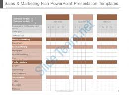 sales and marketing plan powerpoint presentation templates