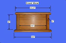 Wooden Box Plans Free by Free Wood Cremation Urn Box Plans How To Build Wood Cremation Urns