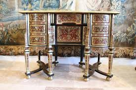 bureau boulle bureau mazarin in boulle marquetry of louis xiv period by anticswiss