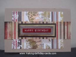 handmade masculine birthday cards 100 images stin up handmade