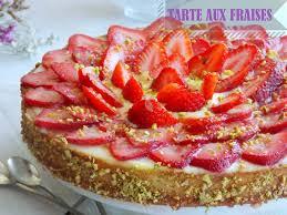 aux fraises cuisine tarte aux fraises a la crème amandine le cuisine de samar