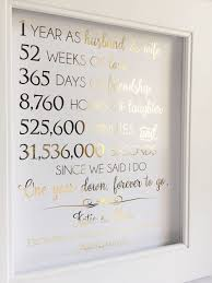 1st year wedding anniversary ideas the 25 best anniversary gifts for husband ideas on