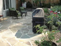 beautiful irregular flagstone patio for inspirational home