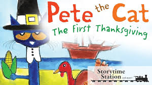 books for thanksgiving pete the cat the first thanksgiving by james u0026 kimberly dean