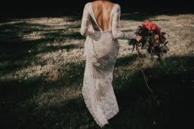 Boho Wedding Dresses Lisa Lace Backless Boho Wedding Dress Dreamers And Lovers