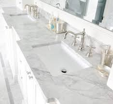 Bathroom Vanity Worktops Bathroom Vanity Tops In White Macaubas Quartzite By Levantina