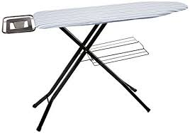 honey can do folding table honey can do quad leg ironing board with deluxe iron rest amazon ca