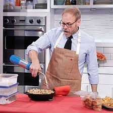 alton brown is getting ready to open up a coffee shop food wine