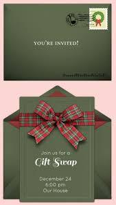 free online holiday invitations pretty christmas tree lights