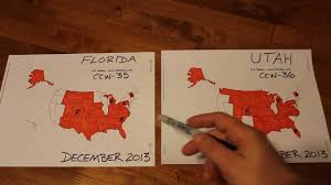 Reciprocity Map Multi State Florida Ccw Utah Ccw Comparison Youtube