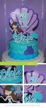 my daughters homemade the little mermaid ariel cake for her 4th