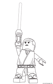 lego star wars luke skywalker coloring pages printable