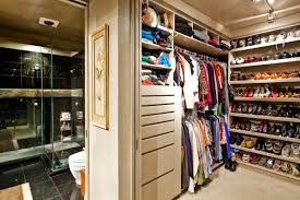 cute closet organizer ideas with white painted maple wood storage