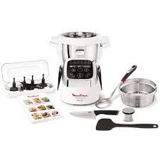 cuisine moulinex moulinex hf805810 cuiseur companion xl blanc achat