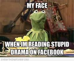 Kermit Meme My Face When - funny kermit meme my face when i m reading stupid drama on facebook
