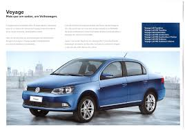 brazil volkswagen thesamba com vw archives 2016 vw voyage sales brochure brazil