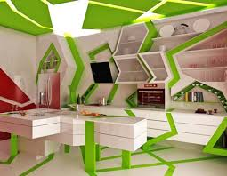 Contemporary Kitchen Colors Modern Kitchen Design By Gemelli Design Orange And Green Colors