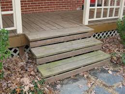 Back Porch Stairs Design How To Paint A Wood Deck Or Front Porch We Did Subtle Stripes