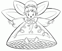 free angel coloring pages for adults coloring home