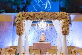wedding arch las vegas four seasons