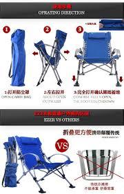 Portable Armchair Fishing Chairs Beach Chair Portable Folding Chair Aluminum Folding