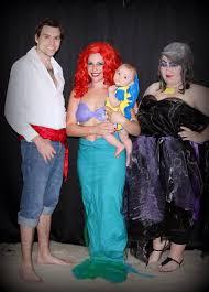 Ariel Costume Halloween Ariel Ursula Flounder Prince Eric Mermaid Halloween Family