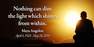 nothing can dim the light that shines from within maya angelou honored poet and essayist dies at 86 our favorite
