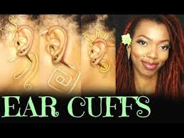 how do you wear ear cuffs ear cuffs demo how to wear