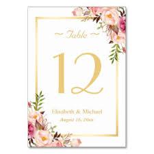 wedding table cards u0026 place cards zazzle