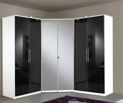 armoire d angle avec miroir greven blanc 139