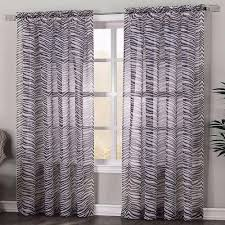 kenya zebra print panel curtainshop com
