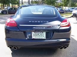 porsche panamera blue 2010 porsche panamera s in dark blue metalic with luxor beige