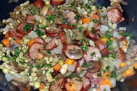 cuisiner des saucisses fum馥s recette de macédoine de légumes aux saucisses fumées ou au lard fumé