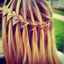 tutorial rambut waterfall lauren s blog hair braid tutorial part 1
