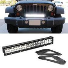jeep jk light bar brackets 120w high power led light bar kit for jeep wrangler jk