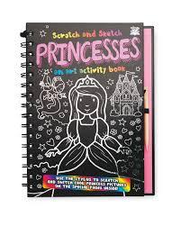 top that princess scratch u0026 sketch aldi uk