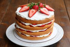 cake top strawberry layer cake laylita s recipes