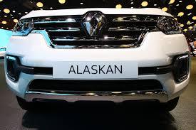 renault alaskan new alaskan pickup brings ruggedness to renault u0027s paris stand