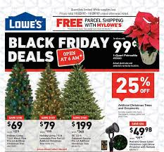 lowes black friday deals for 2017 artificial trees as