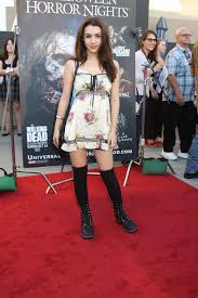 what to wear to halloween horror nights hannah marks at the annual eyegore awards opening night of
